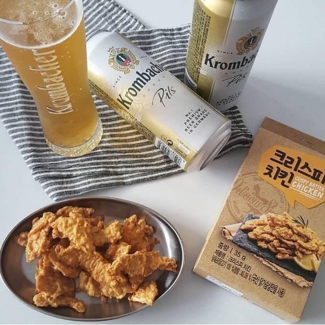 韓國 啤酒好朋友炸雞餅乾雞排餅乾35g