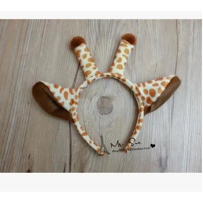 sofi shop party 可愛長頸鹿髮箍髮飾滿1000 折100 FB 按讚9 5