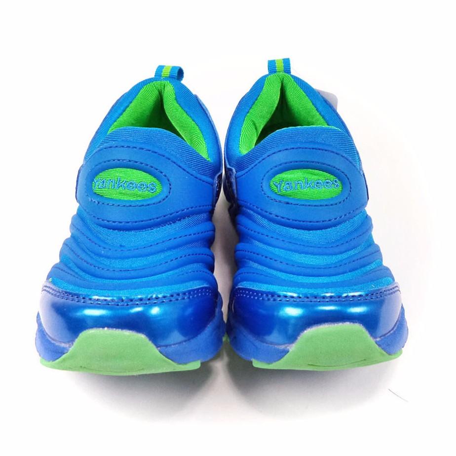 美國職棒大聯盟MLB 洋基隊兒童毛毛蟲 鞋童鞋943015 藍色27 32 號