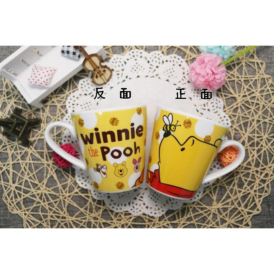 日貨迪士尼小熊維尼馬克杯咖啡杯牛奶杯杯子水杯茶杯泡茶杯迪士尼杯子開水杯子喝水杯生日