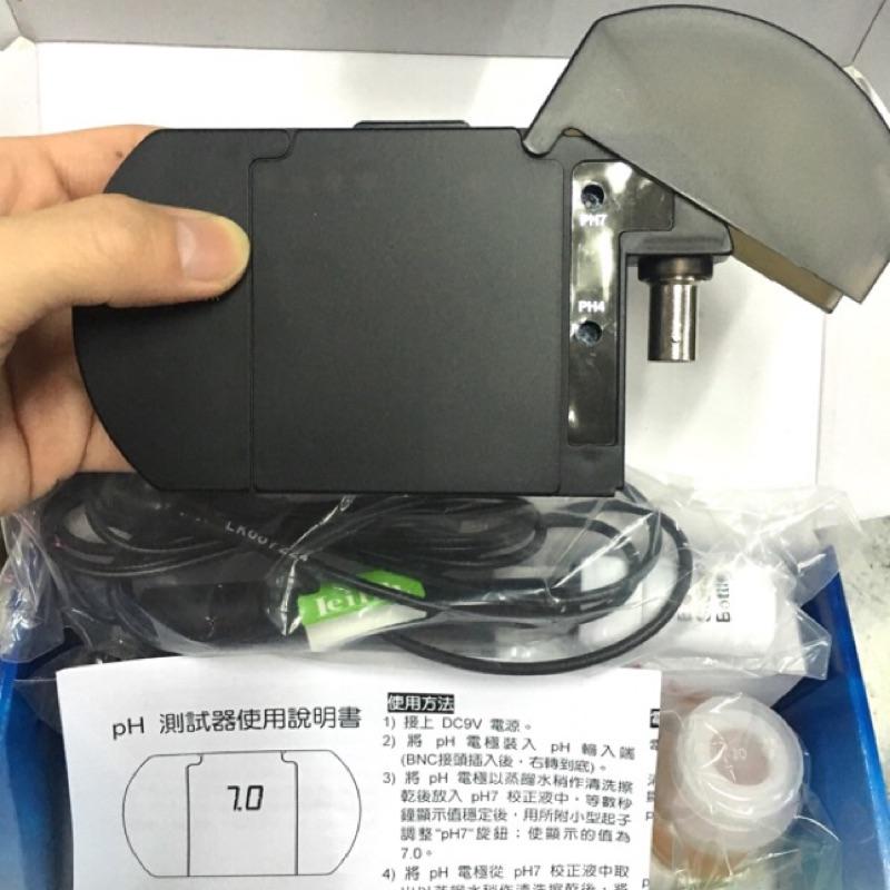 ►鐳力PH 機水質監測器防塵防潑水型~附PH 電極棒~  聊聊