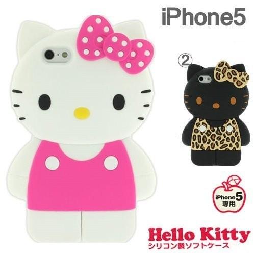 含稅附發票  Hello Kitty iPhone 5 5S 立體全身 手機殼保護殼保殼