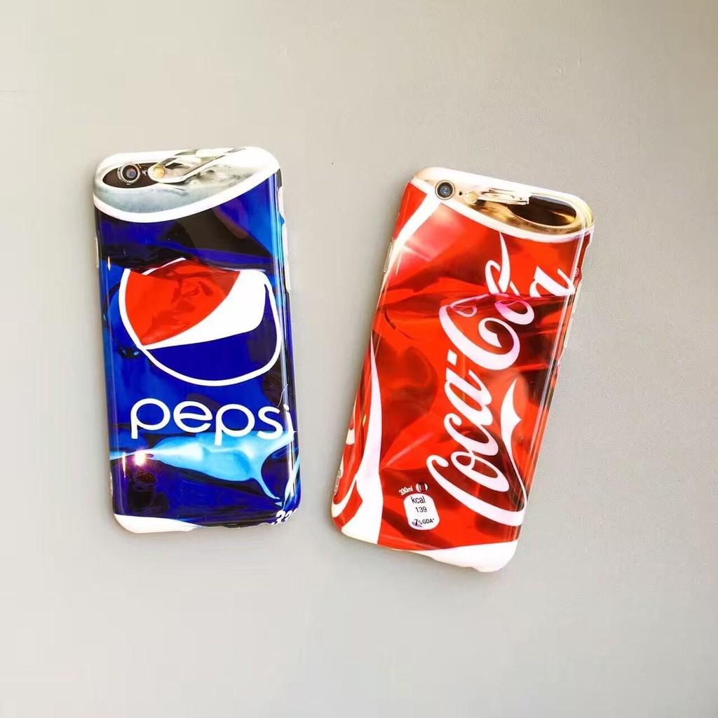 iphone6 6s 3D 仿可樂瓶壓扁手機殼iphone6plus 6splus 百事可