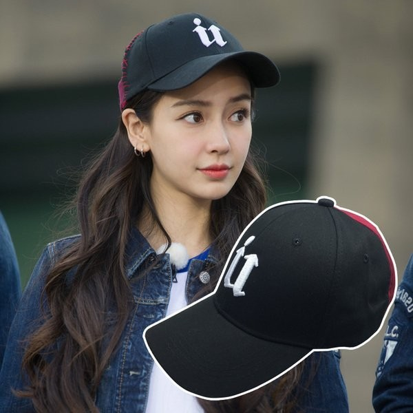 韓國 明星款驚嘆號立體刺繡雙色拼接棉質棒球帽老帽彎帽鴨舌帽子K666