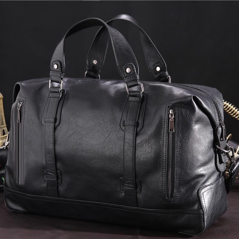 男包大容量出差短途旅行包男手提行李包單肩斜跨旅遊包
