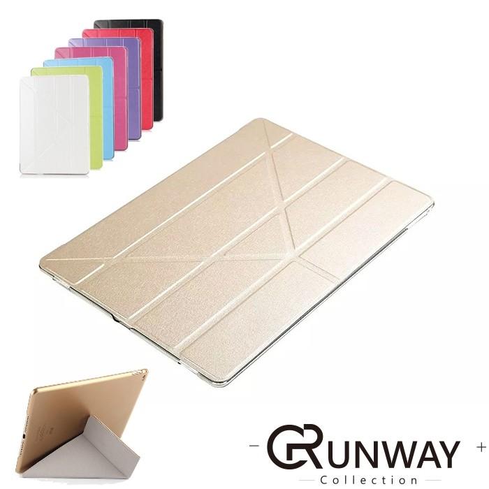 蠶絲紋變形金剛皮套蘋果iPad air air2 mini 平板保護套折疊翻蓋式平板保護殼
