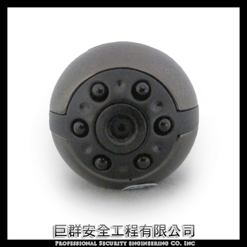1080P 夜視360 度旋轉金屬球型針孔攝影機可單獨拍照錄影循環錄影蒐證密錄器隱藏式偽裝