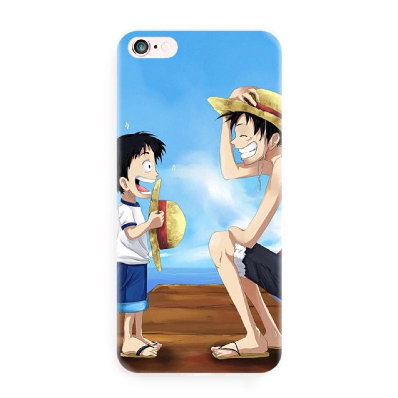 NO 1321 魯夫可愛各式 手機殼訂製手機殼iPhone6 5 6 6s 4 蘋果文青特