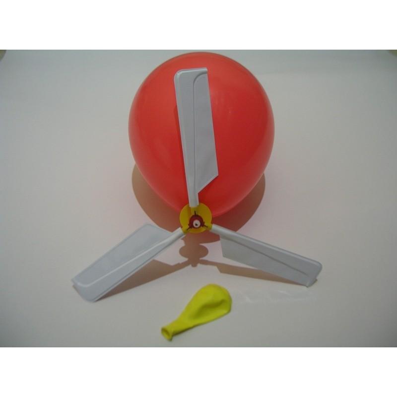 氣球直昇機汽球直升機氣球賽車汽球賽車附貼紙