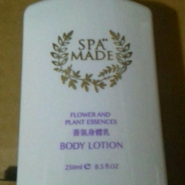 SPA MADE FLOWER AND PLANT ESSENCED LOTION 香氛身