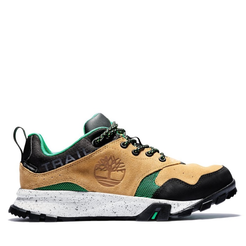 Timberland 男款 小麥色 拼接 Garrison Trail 休閒鞋