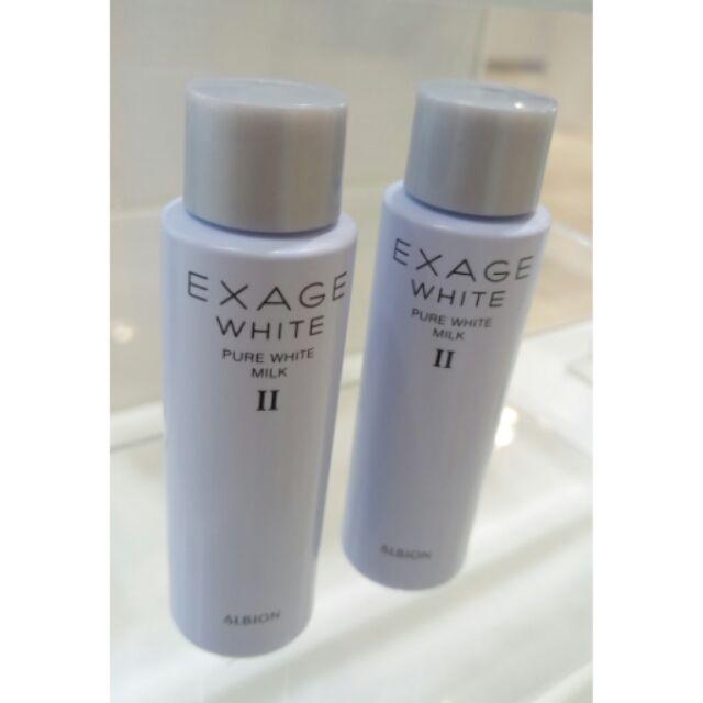 Albion 艾倫比亞活潤水彈力透白新肌能滲透乳II 30g 購買2 罐贈化妝棉試用包