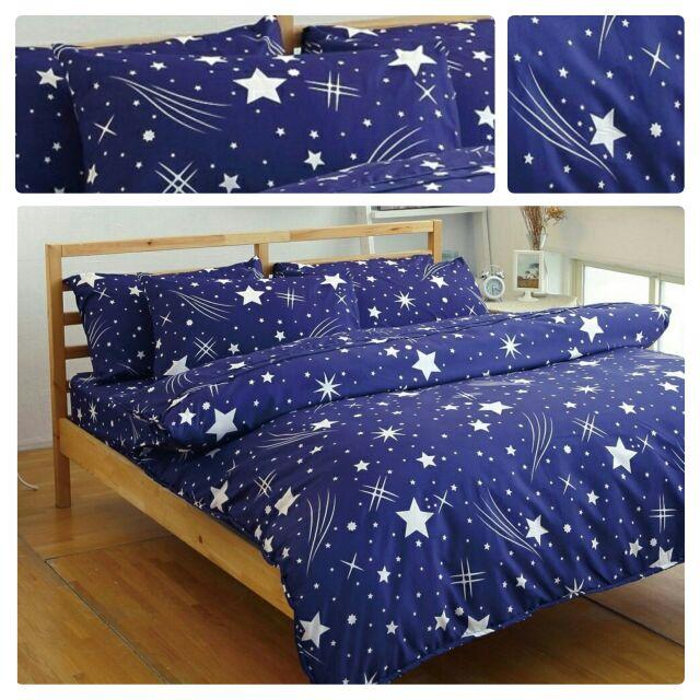 來成流星雨 百組以上單人 雙人雙人加大雙人特大 床包天絲絨舒柔棉雙人三件組雙人薄被套兩用被