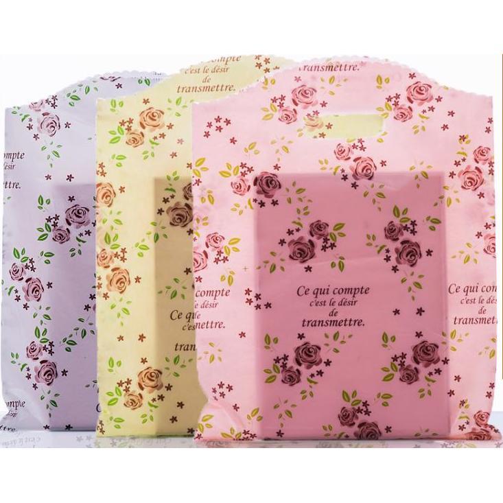⚠玫瑰花服飾袋塑料袋包裝袋 袋