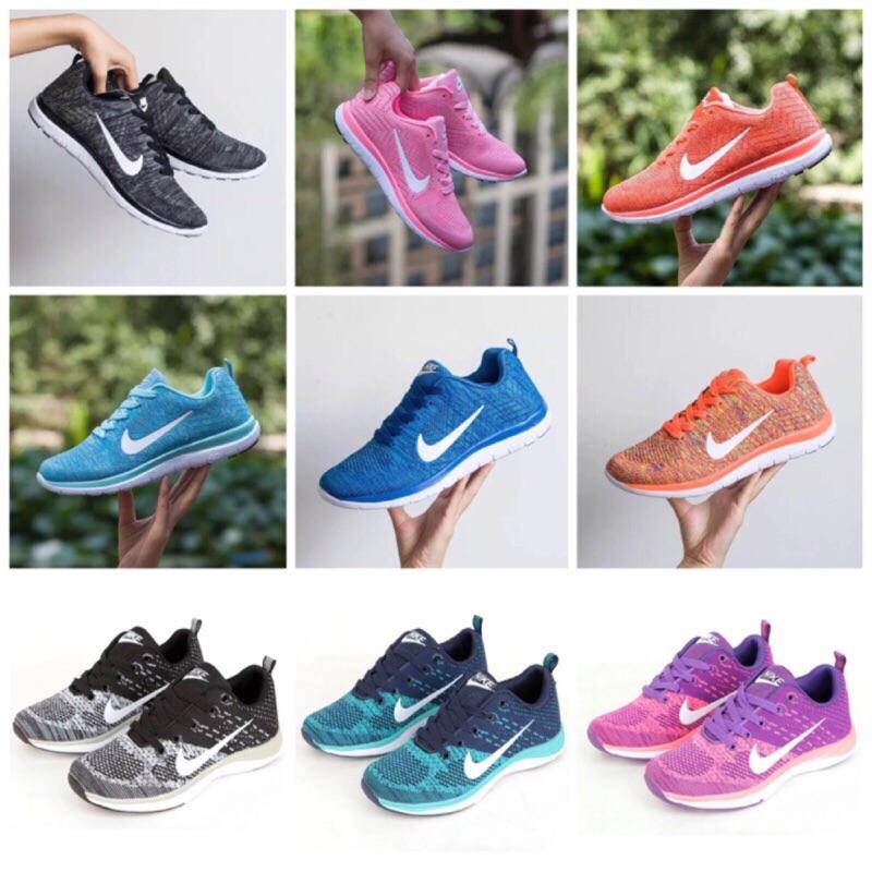 男女情侶鞋透氣輕便夏 網鞋黑白對勾休閒鞋慢跑鞋