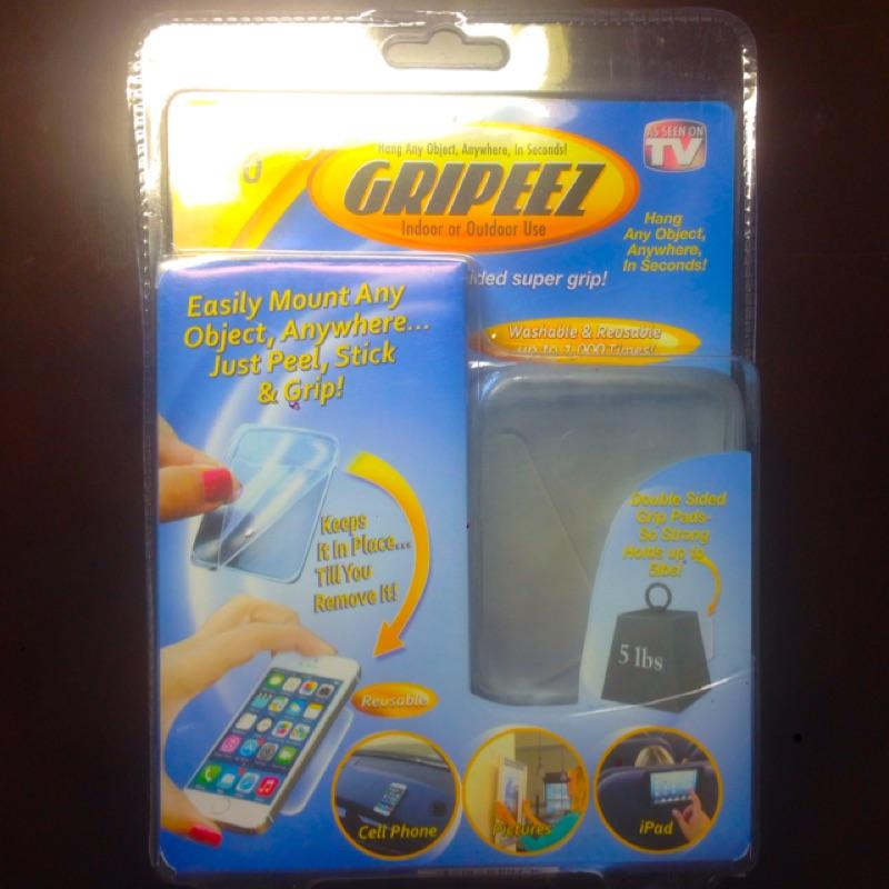 [連妹]10 片裝萬用隨手貼Gripeez 手機防滑貼平板止滑墊萬用貼無痕貼fb  tv