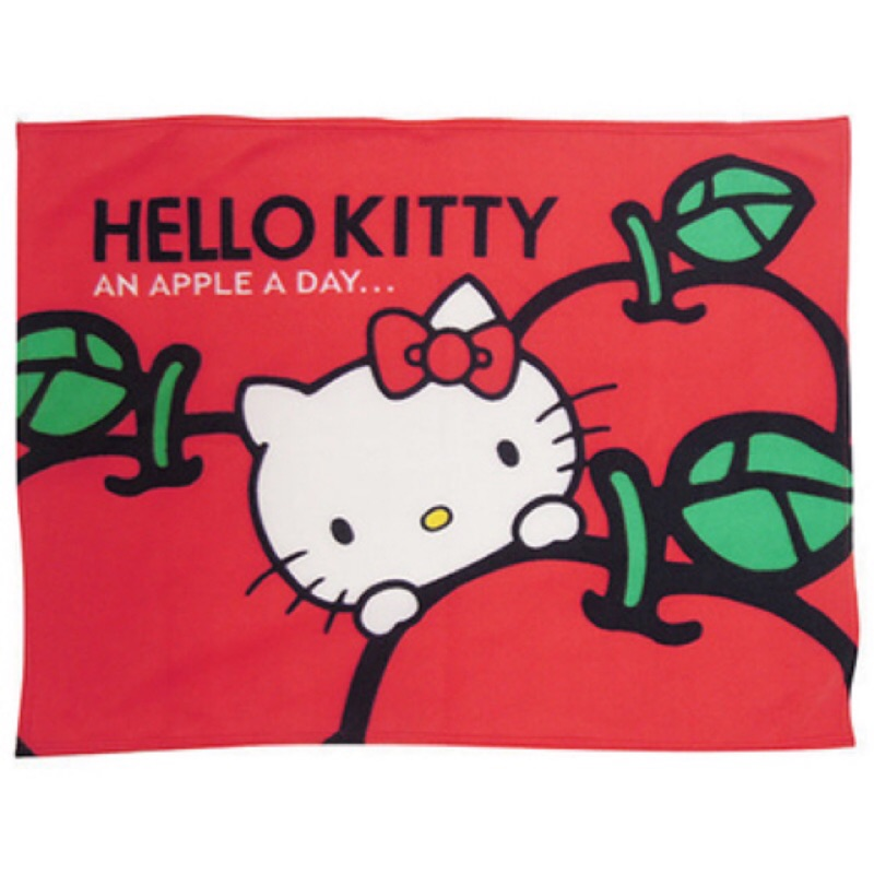 hello kitty 刷毛毯冷氣毯涼被兒童被卡通寢具防寒毯(  )