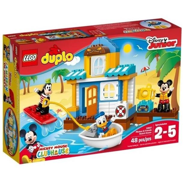 ~W 先生~LEGO 樂高積木DUPLO 得寶系列米奇和朋友們Beach House 10