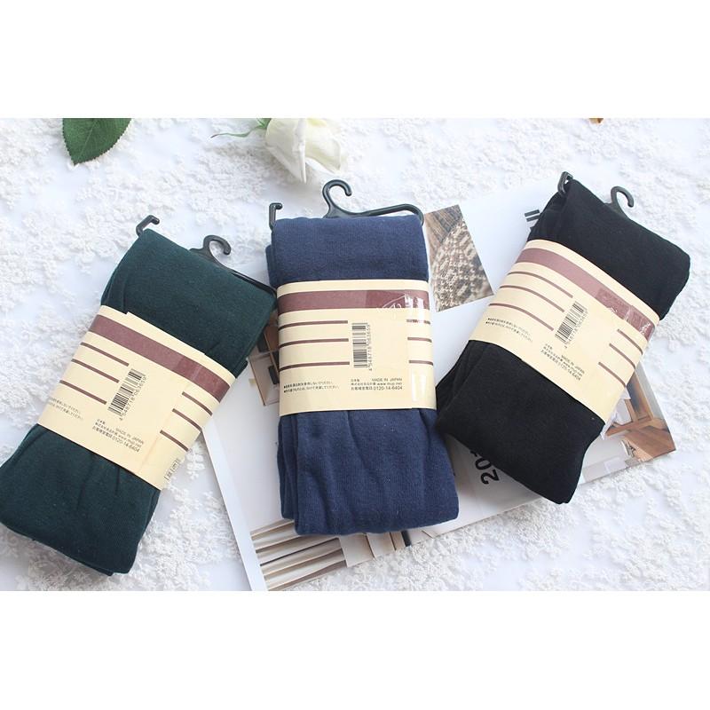 [ ] 原單無印同款森林系日系素色緊身內搭褲打底襪褲襪