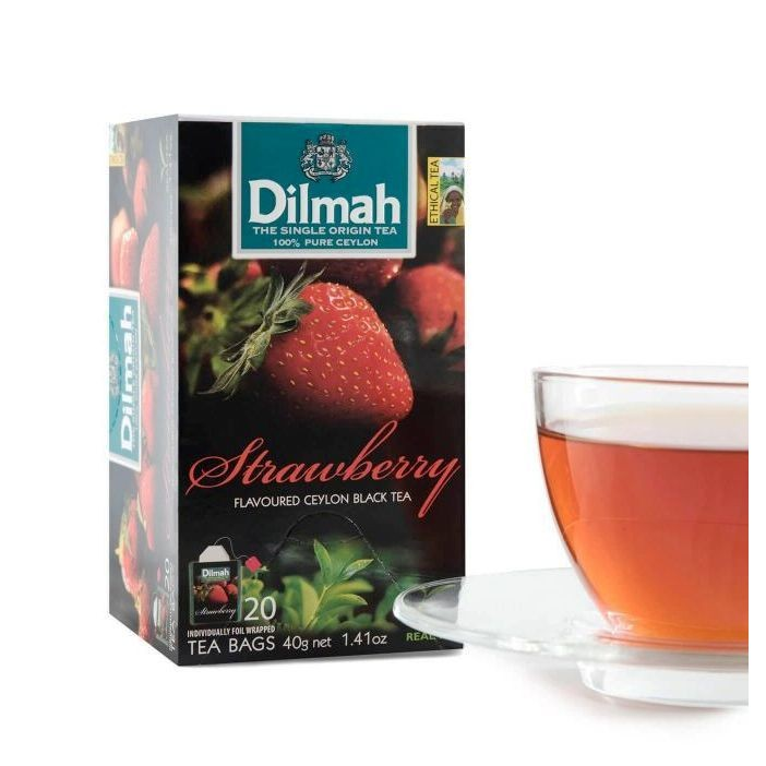 co co tea ~帝瑪草莓茶Dilmah Strawberry Tea