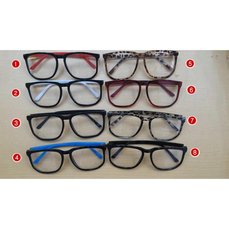 Igs009 多色鏡框 眼鏡方框眼鏡男復古眼鏡女復古眼鏡復古眼鏡鏡框眼鏡GD 韓劇眼鏡韓