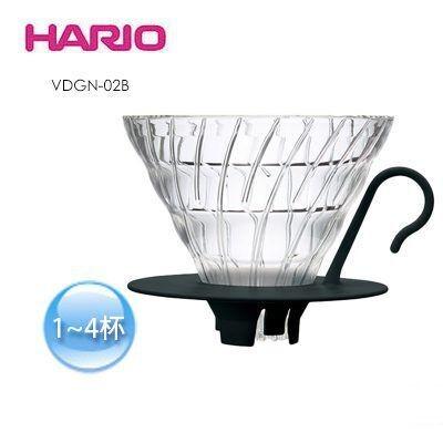 ~Click Buy 可立買~HARIO VDGN 02B 玻璃濾杯V60 手沖咖啡1 4