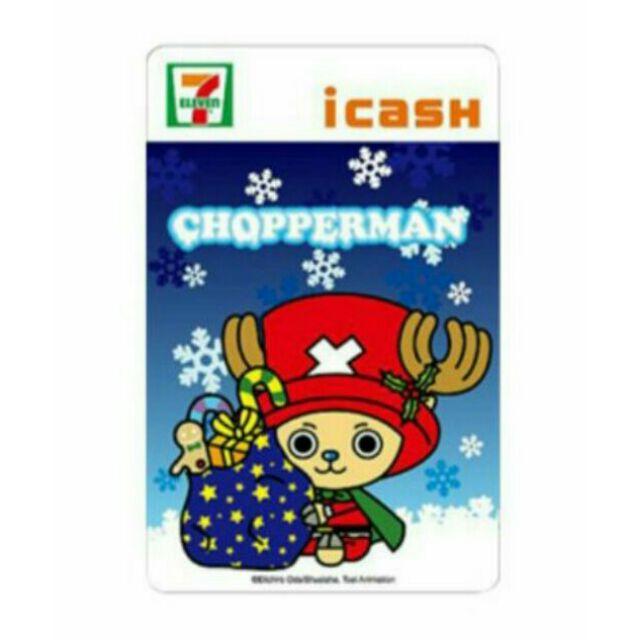 海賊王航海王99 喬巴超人聖誕icash 卡另售一卡通悠遊卡