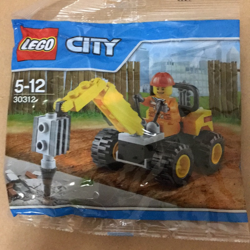 LEGO City 30312 Demolition Driller