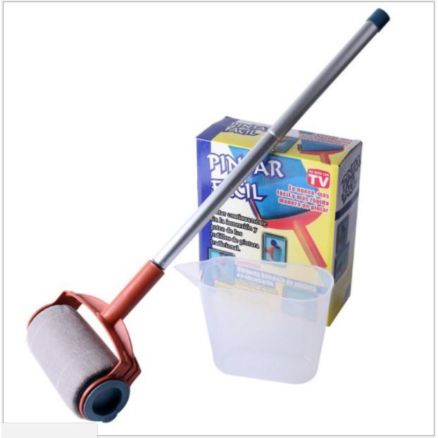 第 強化版粉刷大師外銷 條碼QC OVID 三節加長填充式油漆滾筒刷pintar faci