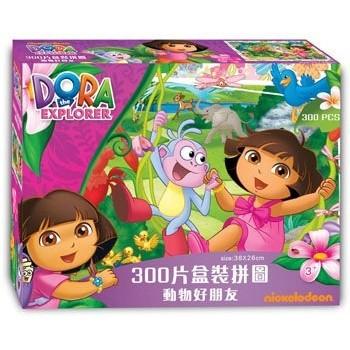 ~佳佳 ~京甫朵拉300 片盒裝拼圖動物好朋友250