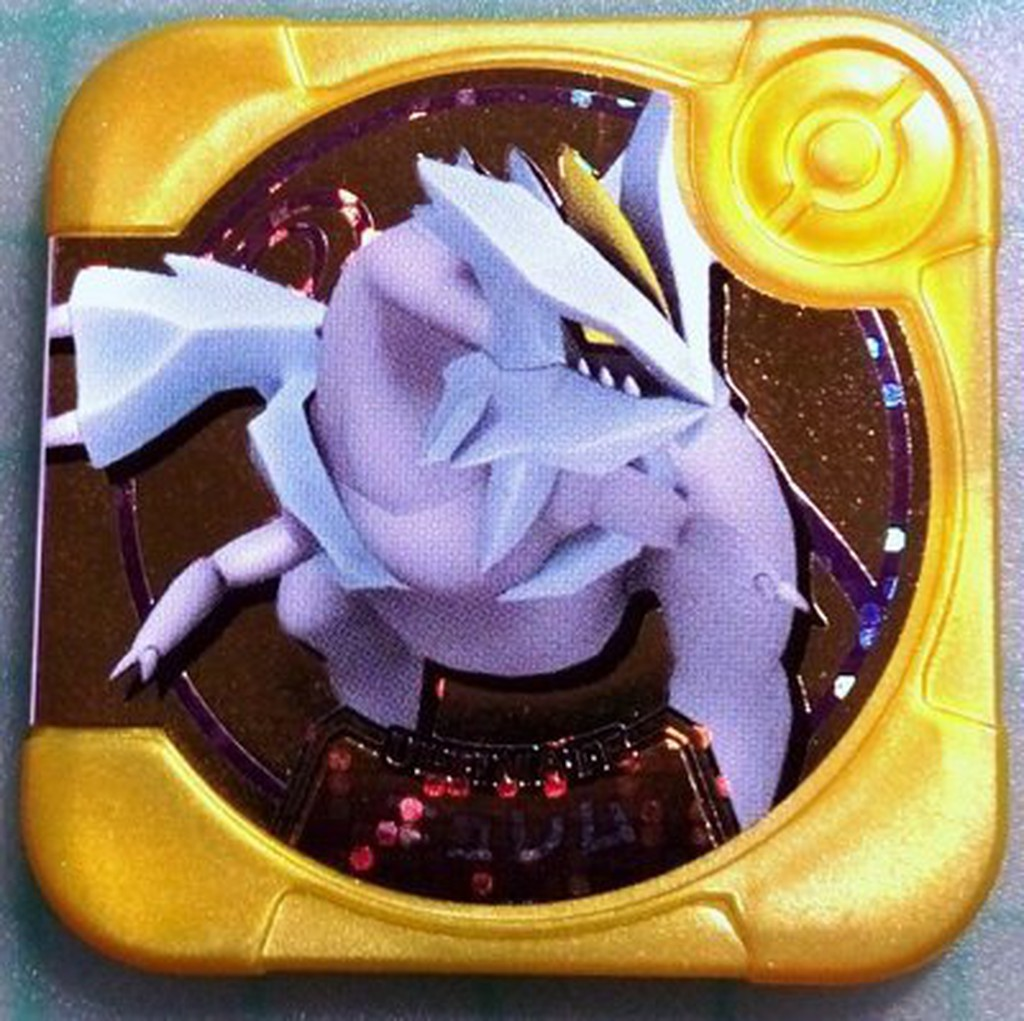 pokemon tretta 神奇寶貝日版U2 彈方型卡匣金色超級卡酋雷姆U2
