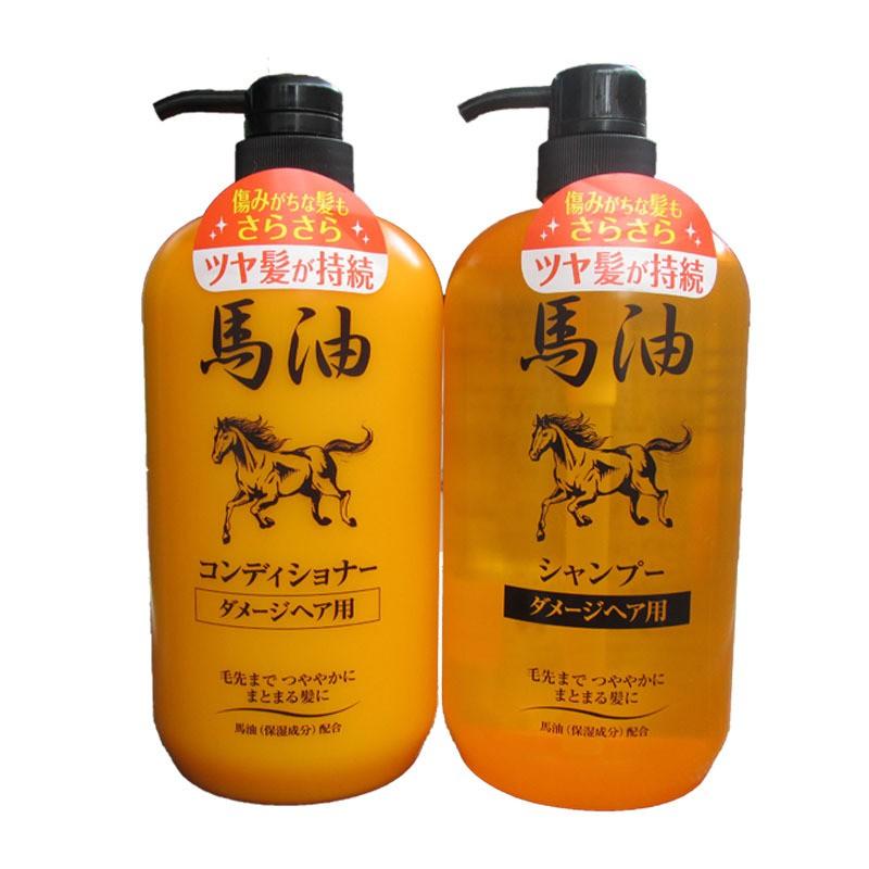 製純馬油保濕受損髮質 洗髮精1000ml