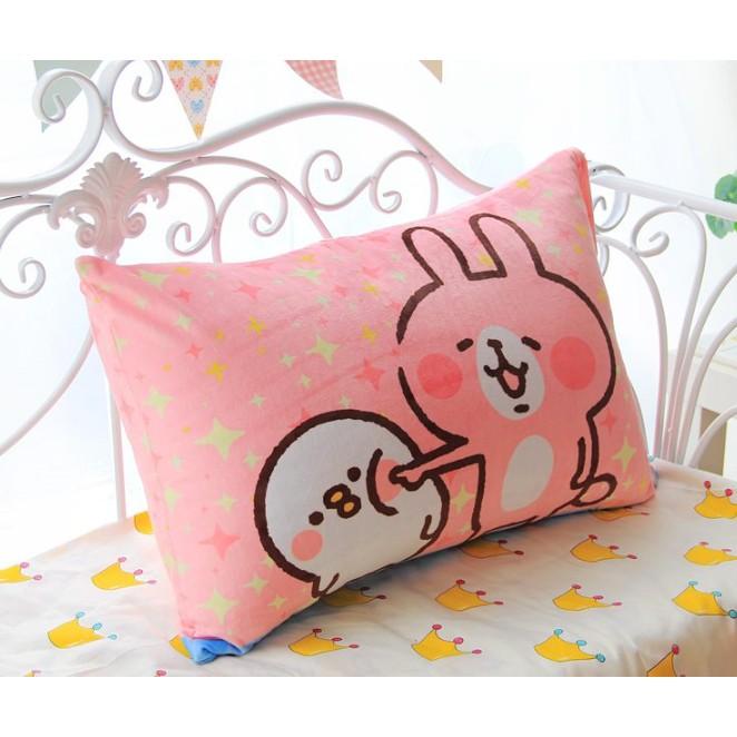 卡娜赫拉kanahei 兔子小雞枕頭套枕套