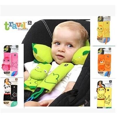 以色列Benbat 寶寶安全帶保護套嬰兒童汽車座椅推車保護帶保護套