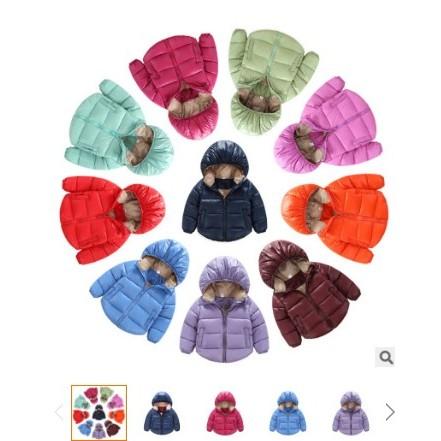 甄baby 2016 中小兒童 男女中小 寶寶保暖羽絨服外套短款
