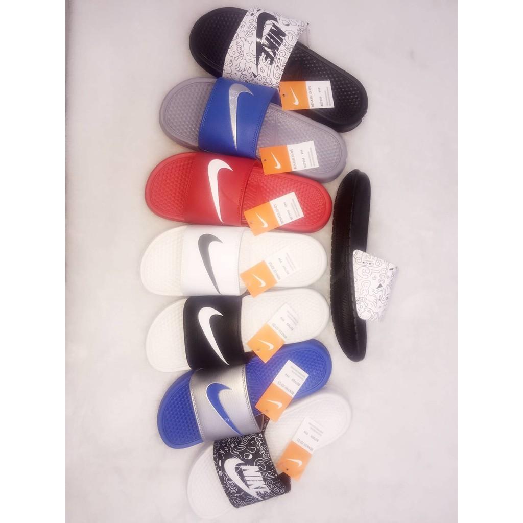 兩樣起免 ,350 一雙Nike Benassi Swoosh 陰陽拖鞋尺寸37_45 碼