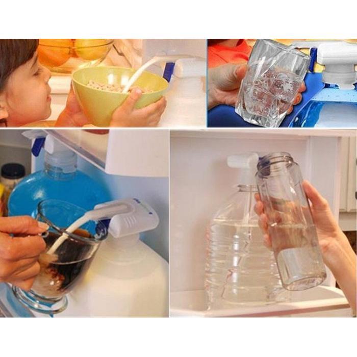 TV 魔術自動飲水器靠近式自動給水魔法水龍頭簡單操作安全家庭 神奇吸管給水器
