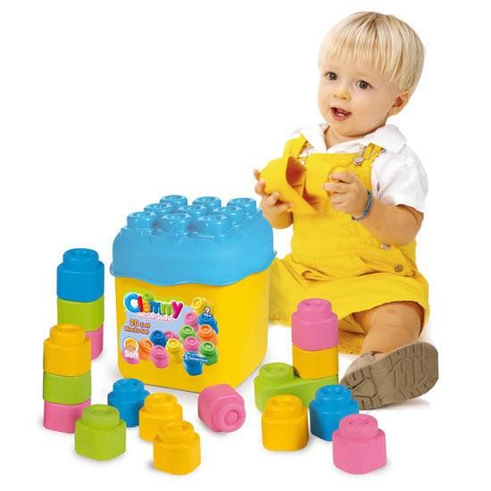 ~Baby House ~ 可超取Clemmy 軟積木20PCS 粉色桶裝