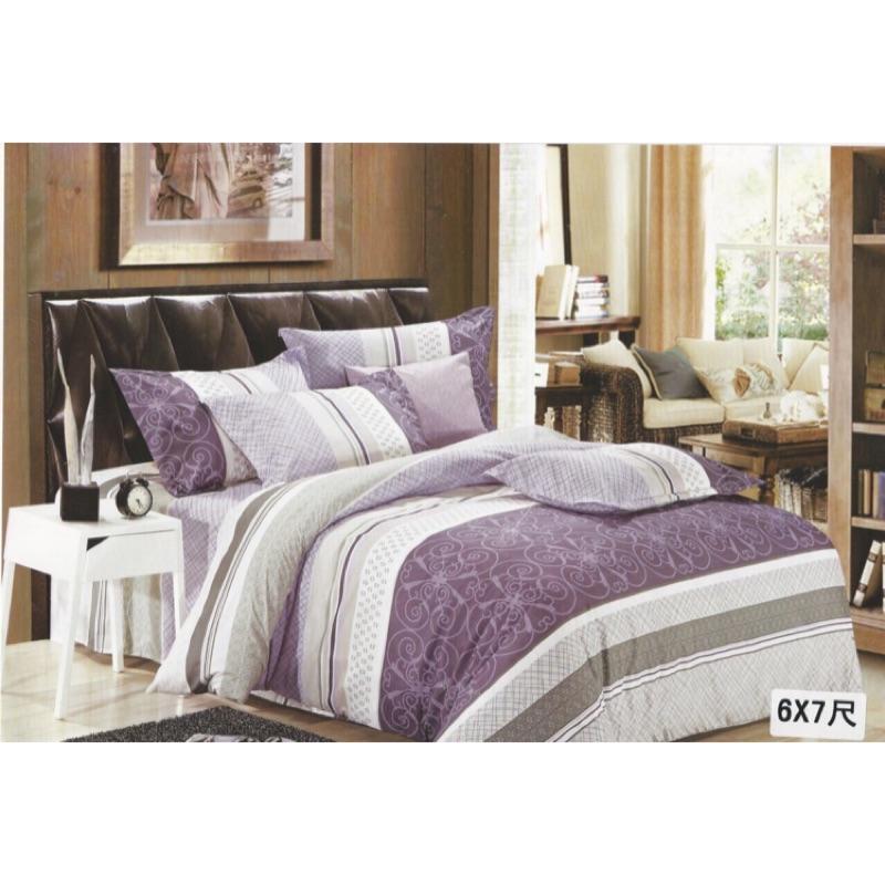 有 最 •貿易商 ·床包三件組,舒柔棉,6X7 加大款,king size