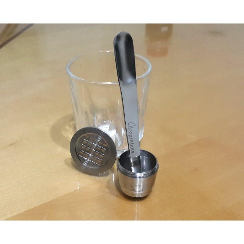 咖啡膠囊挖粉棒攪拌棒雀巢咖啡膠囊joy  館 環保膠囊不鏽鋼膠囊重覆 膠囊 diy 樂趣多