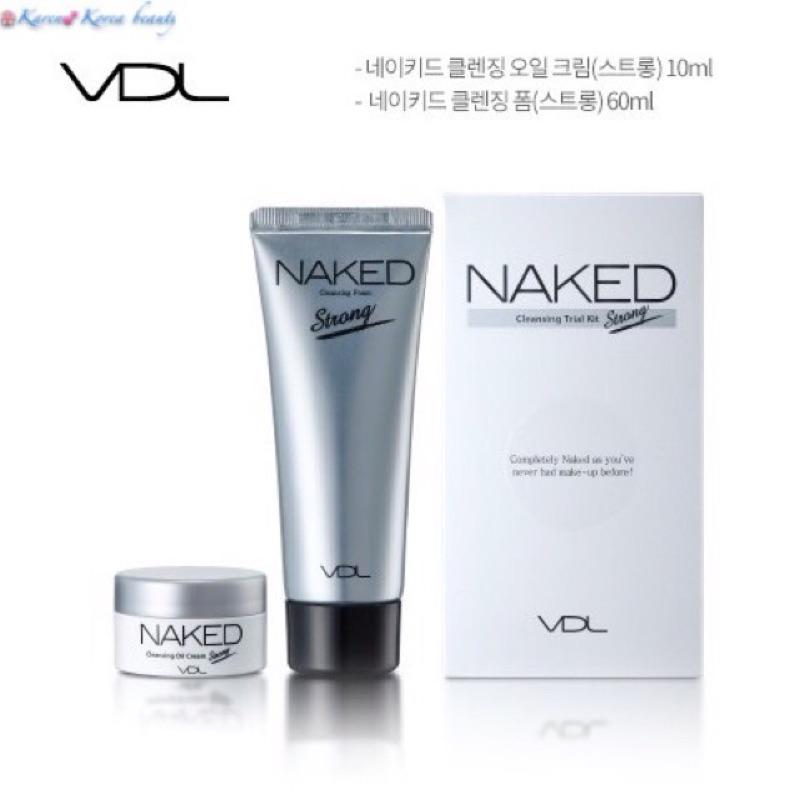韓國 VDL 裸感深層清潔洗面乳赤裸泡沫潔面乳卸妝膏naked cleansing foa