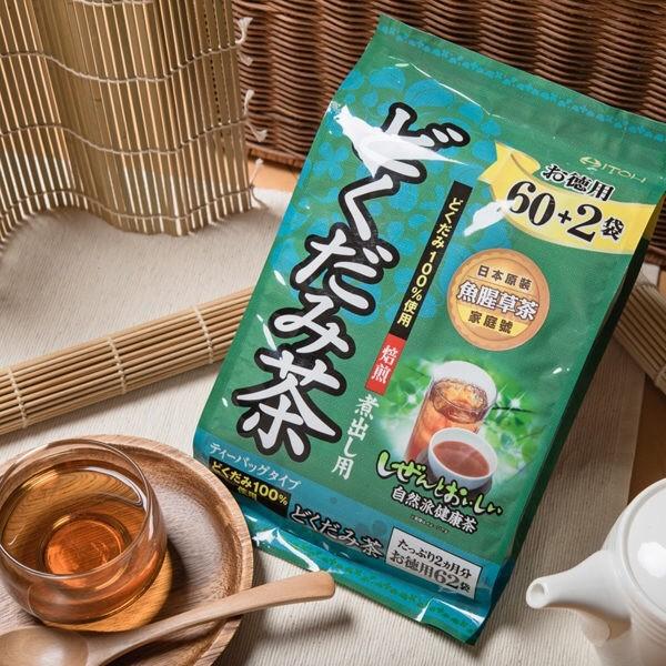 ITOH 德用魚腥草茶3g 62 包袋