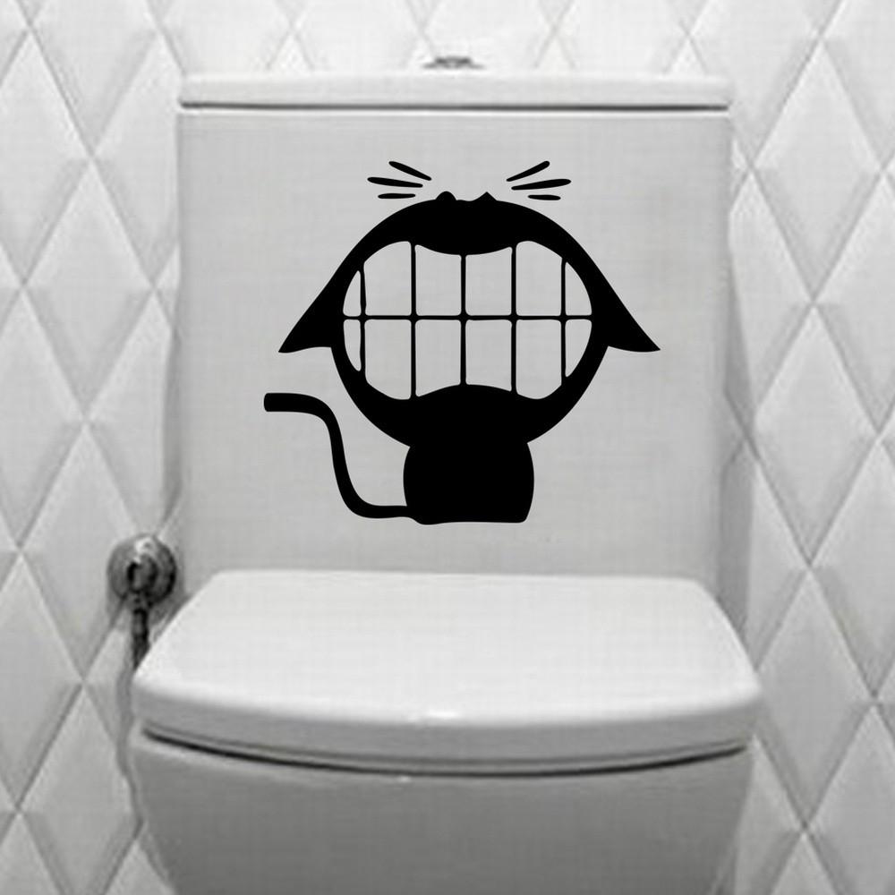 貓廁所浴室冰箱牆貼貼花店Office 家庭咖啡酒店貼花兒童房壁紙