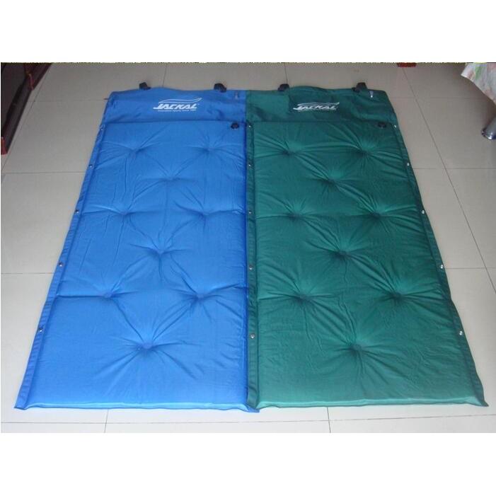 一露遊你韓國JACKAL 單人加寬充氣墊可拼接變雙人床露營野營帳篷戶外加厚自充墊防潮墊