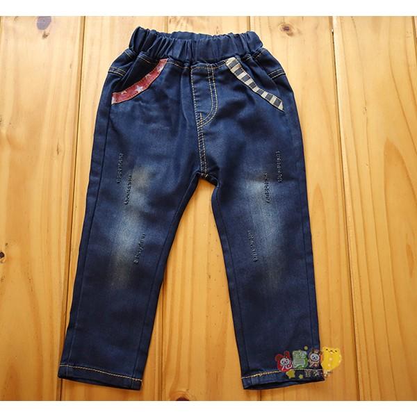 價120 元79152 百搭刷色素色超彈性牛仔褲長褲5 13 號中小童