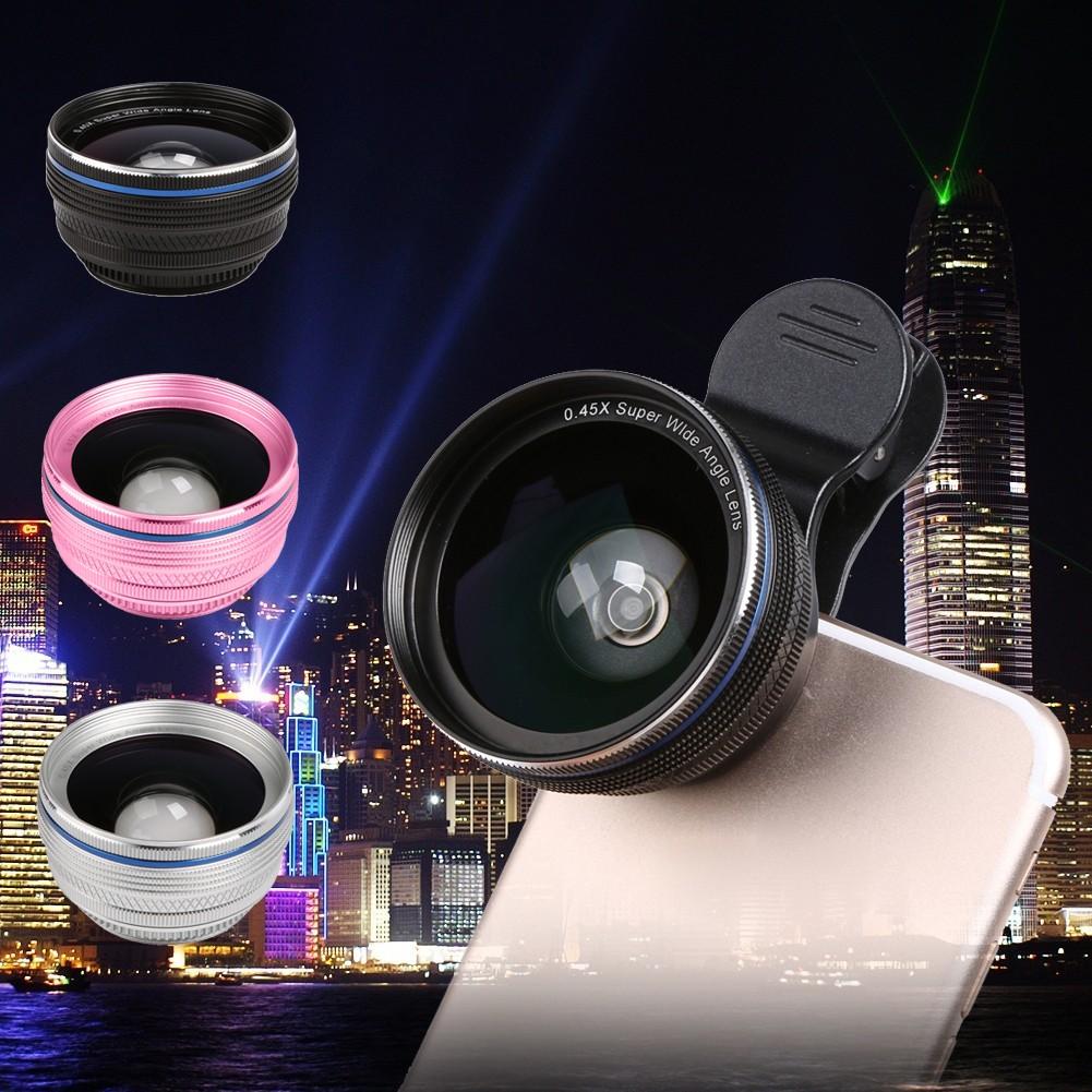 手機鏡頭單反超廣角微距二合一套裝蘋果拍照 外置攝像頭