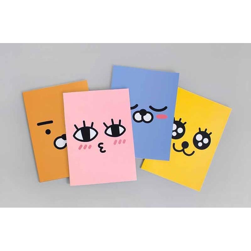 KAKAO FRIENDS B5 筆記本RYAN APEACH MUZI NEO