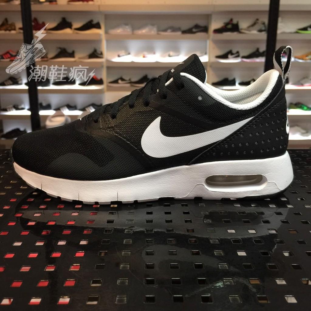 ~夢幻~Nike Air Max Tavas GS 黑白氣墊黑白休閒慢跑鞋大童鞋女段814