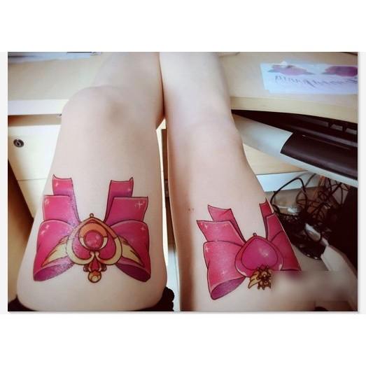 美少女戰士大蝴蝶結WX 089 ~LA ❇TATTOO ~防水紋身貼紙微刺青貼紙