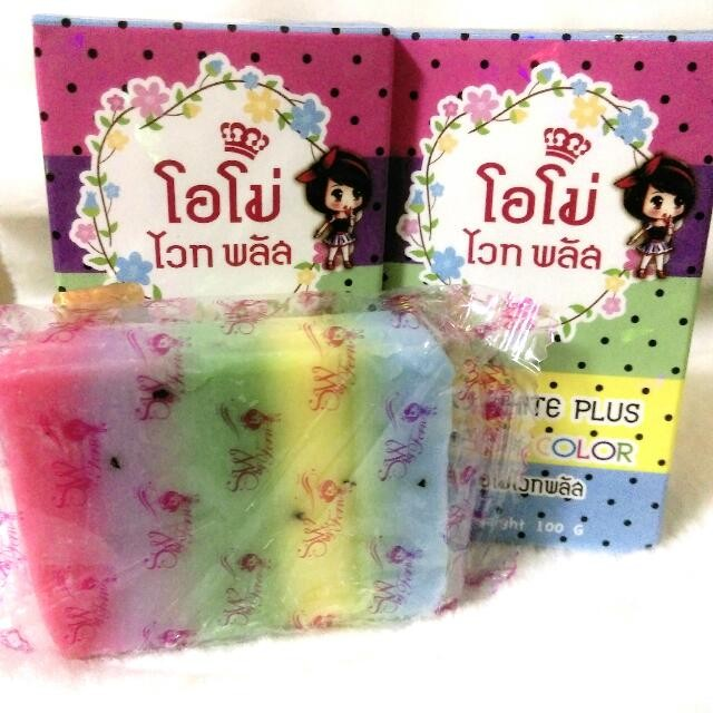 ~美白皂專區~ 泰國正品彩虹皂美白皂身體皂